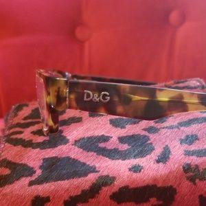 """D&G Accessories - """"D&G"""" FRAMES TORTOISE 1168 814 51-16 140"""